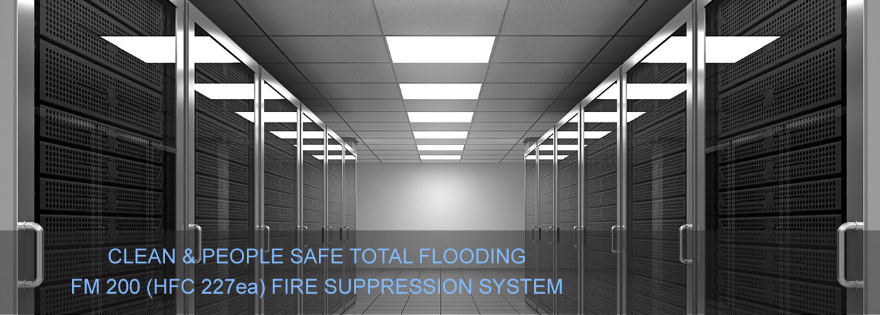 Server Room Data Centre Fire Suppression System, Fire Suppression Gurgaon Noida Delhi Ncr India, Automatic Fire Suppression System