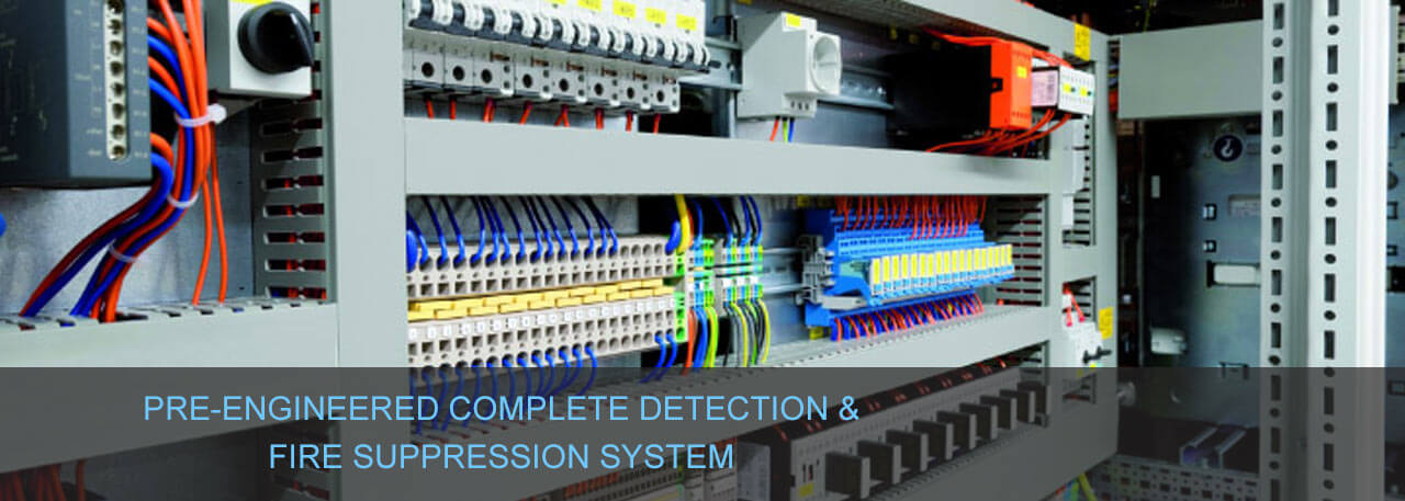 Electrical Cabinet Fire Suppression System, Fire Suppression System Suppliers